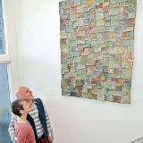 "Wall Sculpture ""Pieces"""