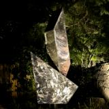 """Balance"" 7' Stainless Steel Sculpture"