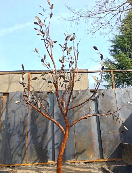 14 Foot Steel Tree Garden Renovation